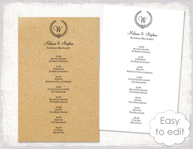 Wedding Itinerary Template Rustic Schedule Black Birthday Invitations Sample Party Planning Checklist Templates Word Invitation Kelowna Now Events